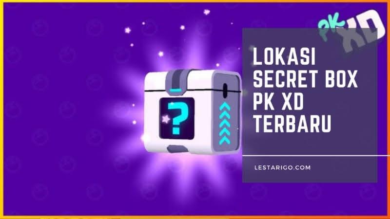 Lokasi Secret Box PK XD dan Cara Mendapatkanya