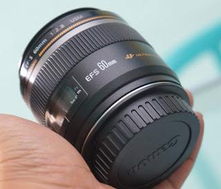 Lensa Canon 60mm f2.8 Bekas
