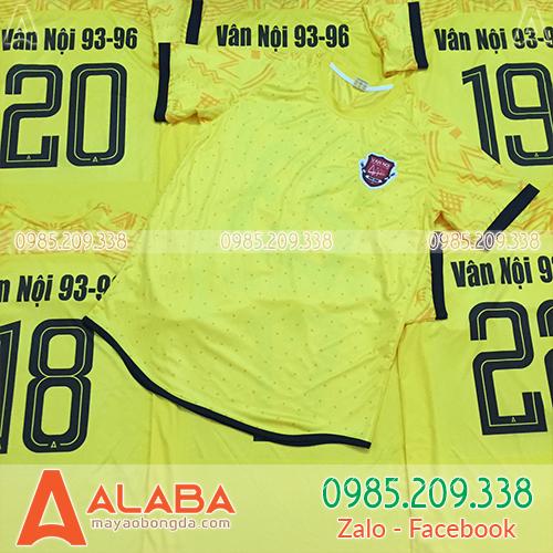 Áo bóng đá đẹp ở Hà Nội