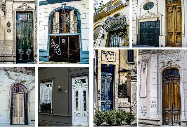 Fachadas típicas do bairro de Palermo, Buenos Aires