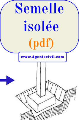 Semelle isolée pdf