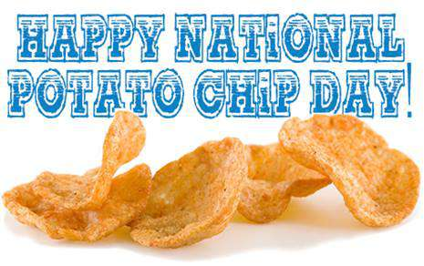 National Potato Chip Day Wishes Images download