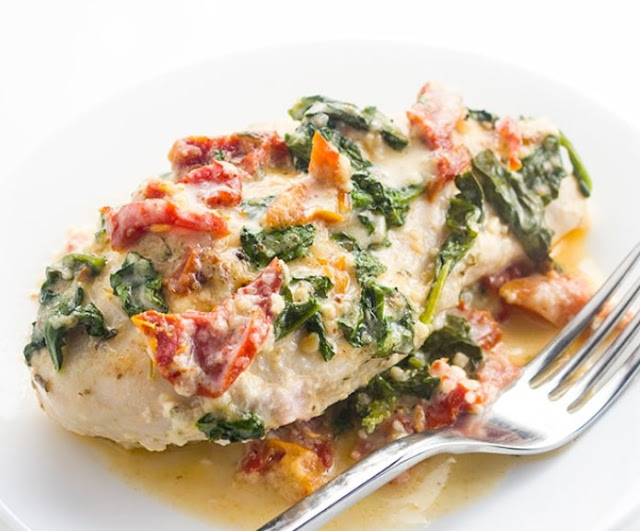 Keto Tuscan Garlic Chicken #lowcarb #recipes