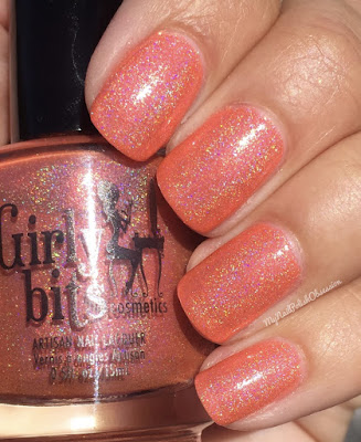 Girly Bits Cosmetics July COTM Duo; No Tan Lines