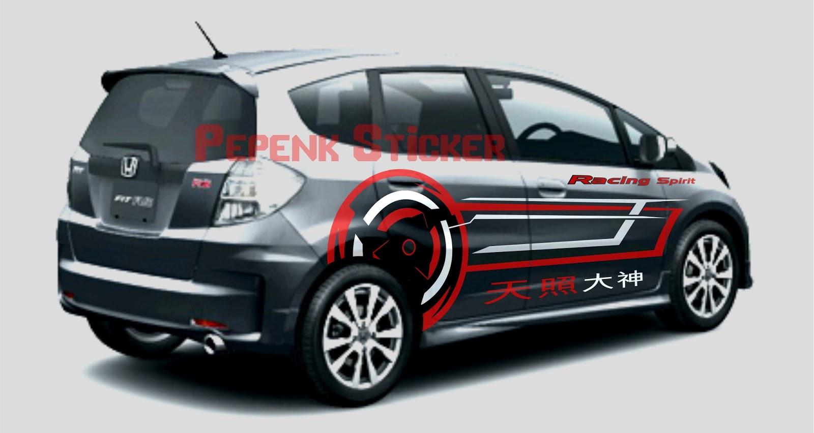 Gambar Cutting Sticker Mobil Pajero | Duniaotto