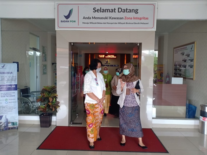 Ombudsman Minta BB POM Semarang Pastikan Pelayanan Vaksinasi Hingga Pengelolaan Limbahnya