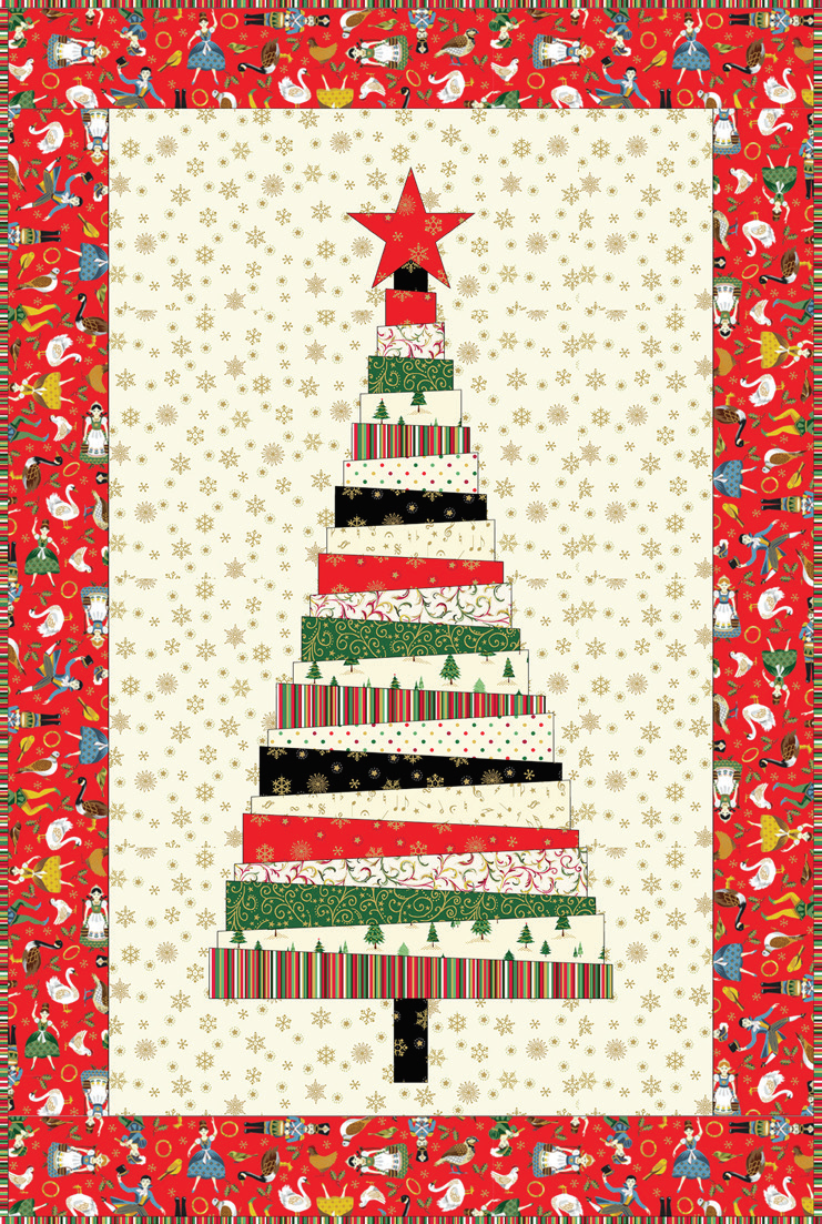 Christmas Tree Quilt : christmas, quilt, Quilt, Inspiration:, Pattern, Christmas, Quilts, (part, Trees!