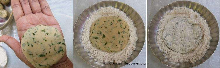 How to make Ajwain Chapati- Step 4