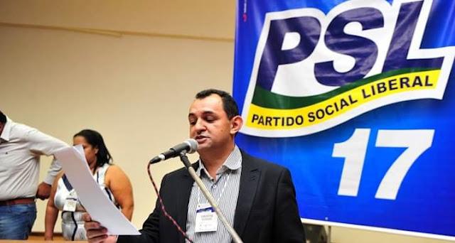 Política: Ex-Secretário Geral volta ao PSL-PR coordenar ações de deputado