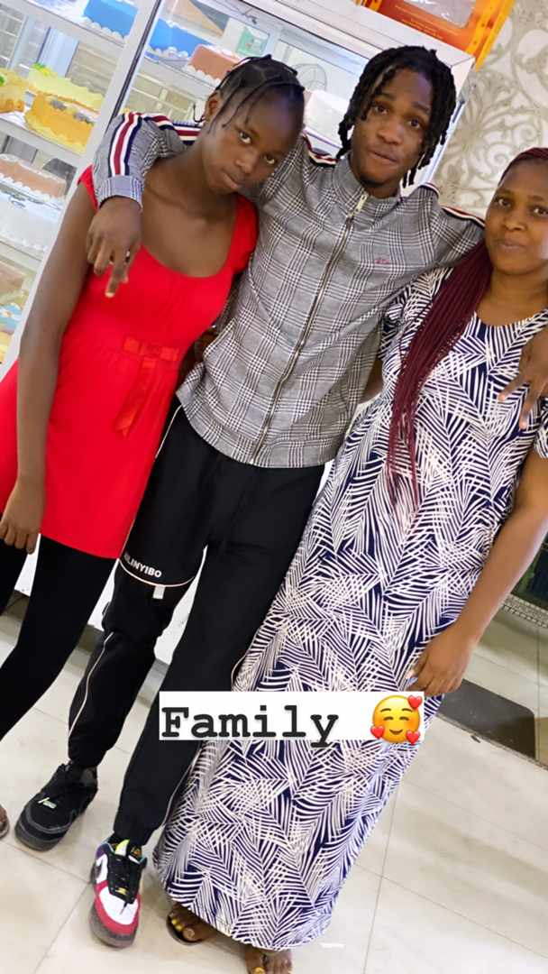 See reactions of Lil Smart's mother when he met her after some years