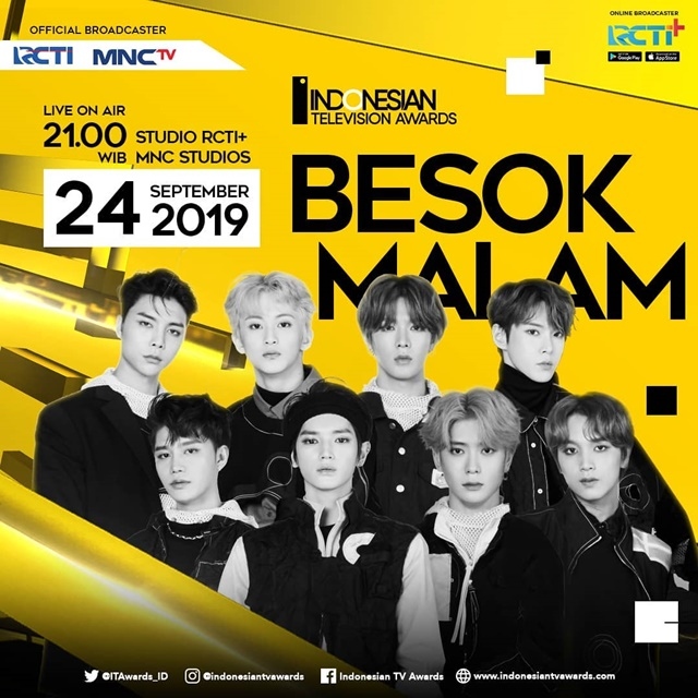 Streaming RCTI Indonesia Television Awards 2019 - IGindonesiantvawards