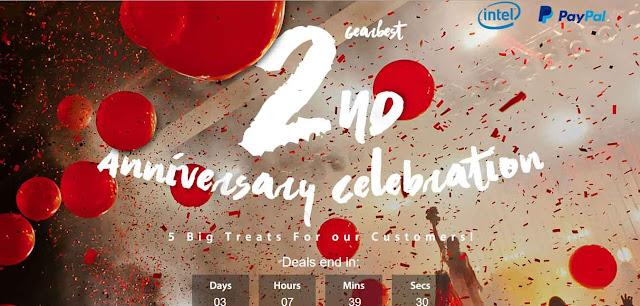 موقع GearBest يحتفل بمجموعة من الخصومات الرائعة للهواتف والتابلت