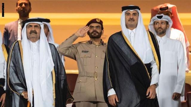 تداول فيديو ما قاله مواطن مصري أمام أمير قطر تميم بن حمد ووالده