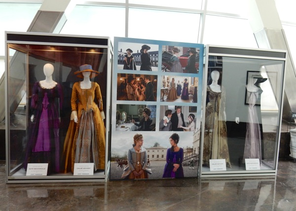 Love Friendship movie costume exhibit