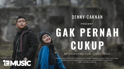 Chord Kunci Gitar Denny Caknan - Gak Pernah Cukup