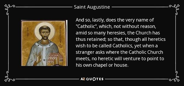 Bagaimana Gereja Katolik Mendapatkan Namanya?