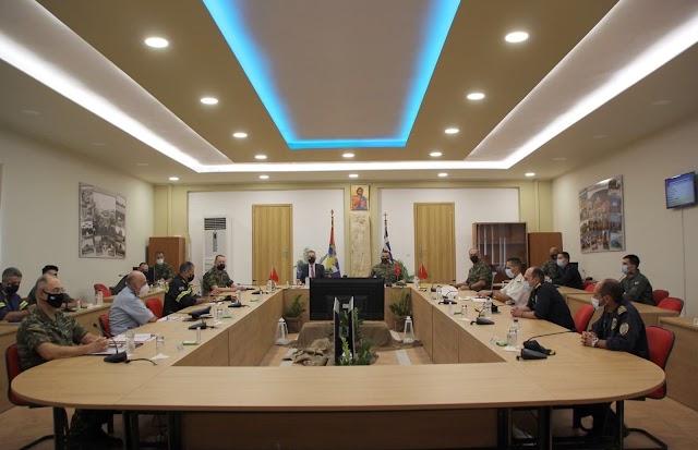 Ο Στεφανής στην ΠΕ/98 ΑΔΤΕ στη Λέσβο-Συμμετείχε σε σύσκεψη για τις μεταναστευτικές ροές (ΦΩΤΟ)