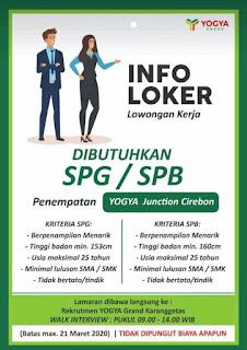 Loker Yogya Junction Cirebon 2020 Yogya Group