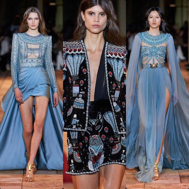 Zuhair Murad Haute Couture Spring Summer 2020 Paris. RUNWAY MAGAZINE ® Collections
