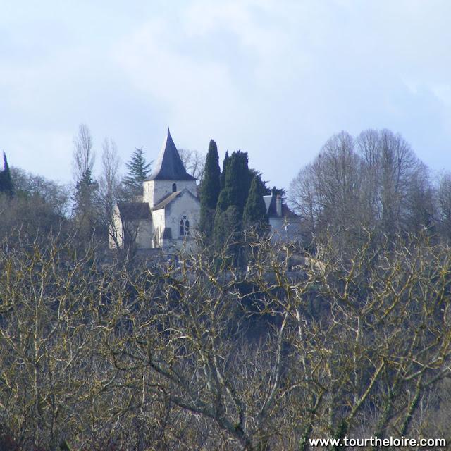 Church, Saint Remy sur Creuse, Vienne, France. Photo by Loire Valley Time Travel.