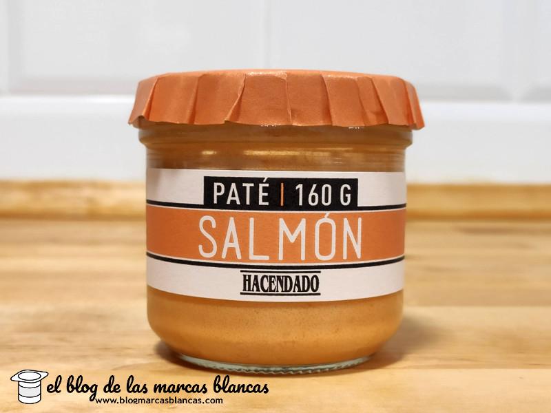 Paté de salmón Hacendado de Mercadona en el blog de las marcas blancas.