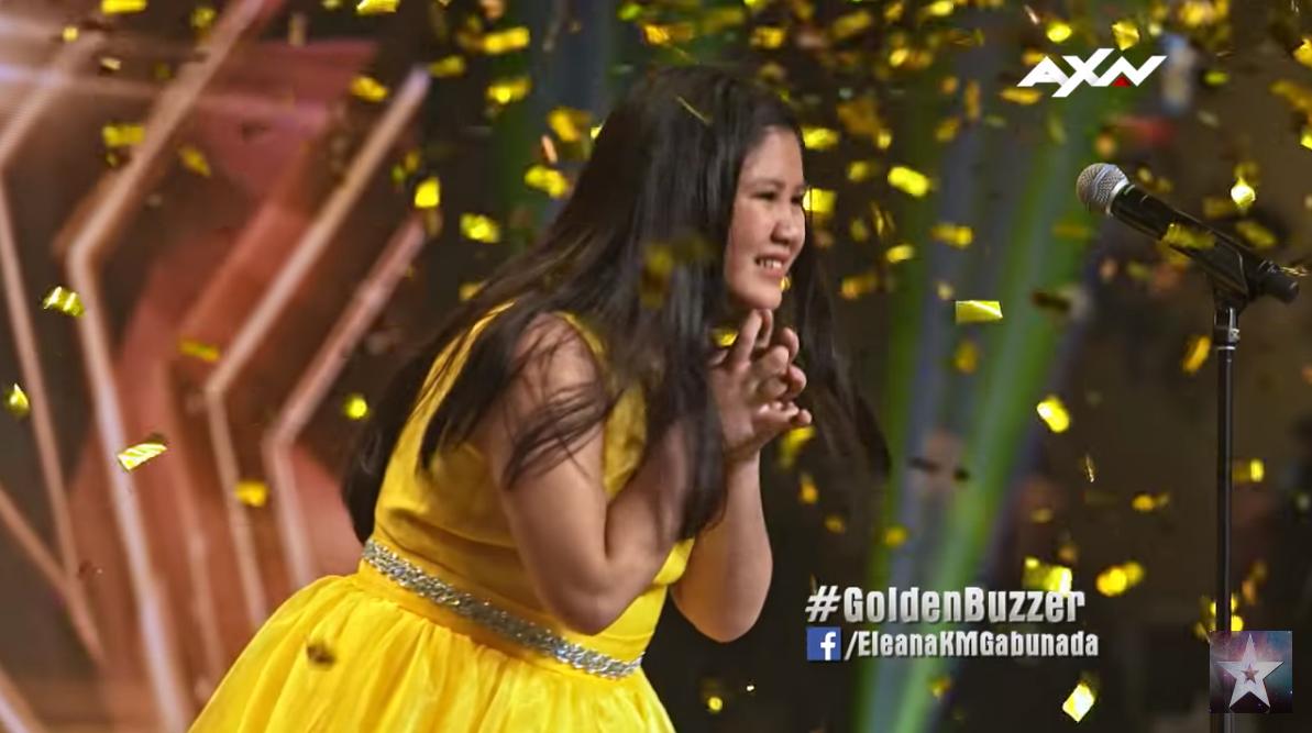Eleana Gabunada Golden Buzzer Asia Got Talent