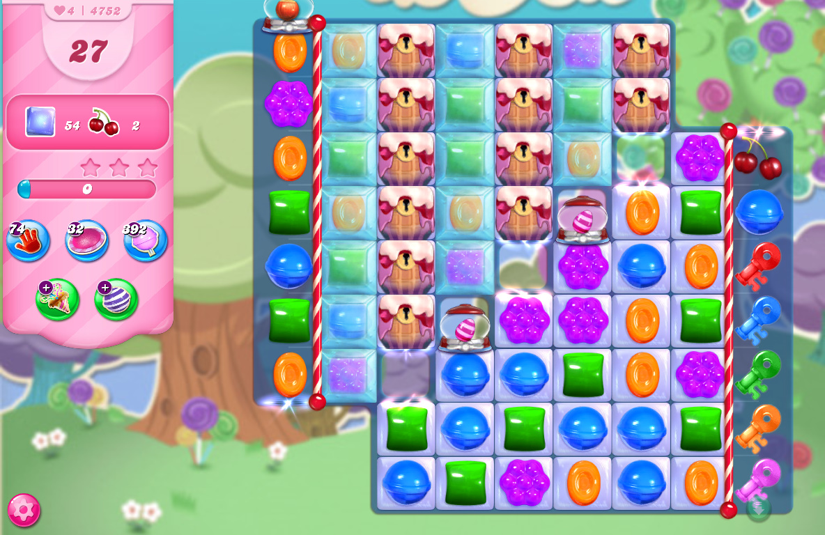 Candy Crush Saga level 4752