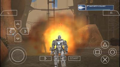 تحميل لعبة Iron Man لأجهزة psp ومحاكي ppsspp