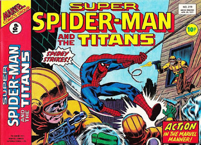 Super Spider-Man and the Titans #219
