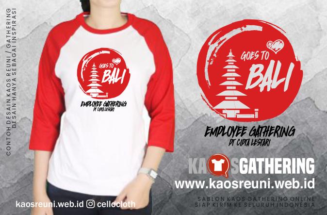 Goes to Bali Family Kaos Gathering  - Kaos Family Gathering - Kaos Employe Gathering