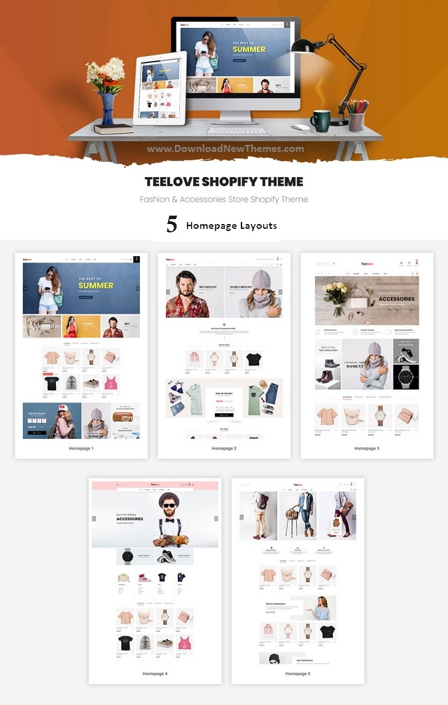 Fashion and Accessories Store Shopify Theme
