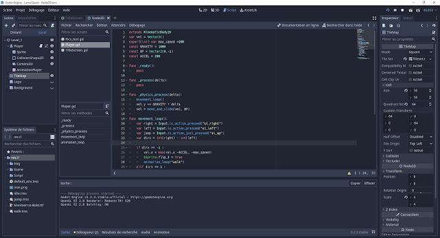 Godot code