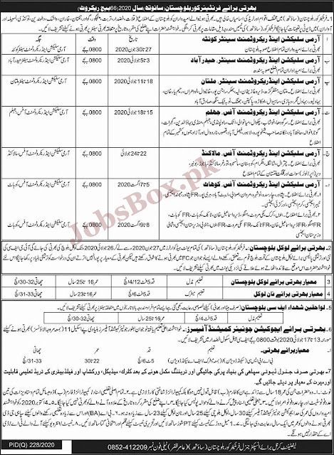 pak-army-as-sepoy-frontier-crops-fc-jobs-2020
