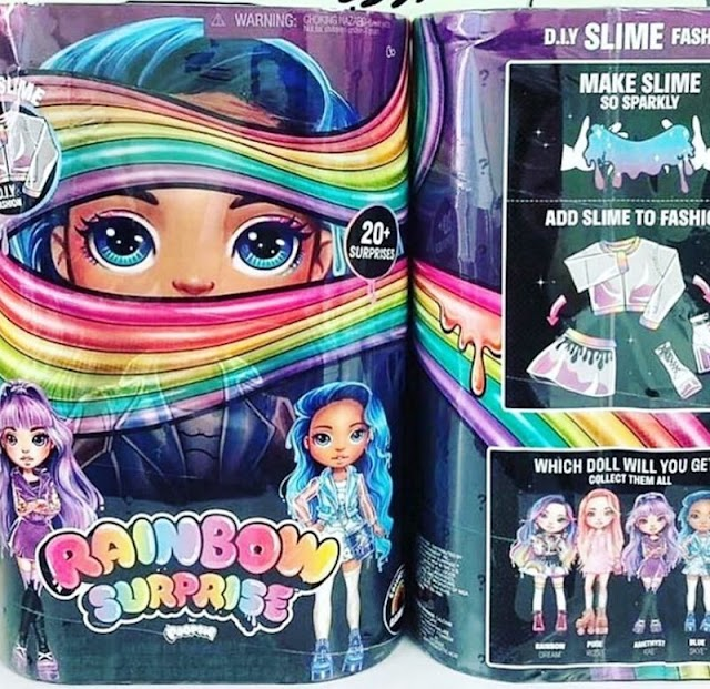 Cute Poopsie Rainbow Surprise Dolls Sized like Barbie