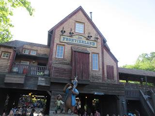 Frontierland Station Disney World
