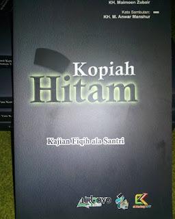 Buku Kopiah Hitam Kajian Fiqih Ala Santri Toko Buku Aswaja Surabaya