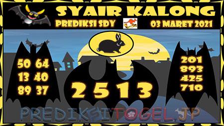 Prediksi Kalong Sydney Rabu 03-Mar-2021