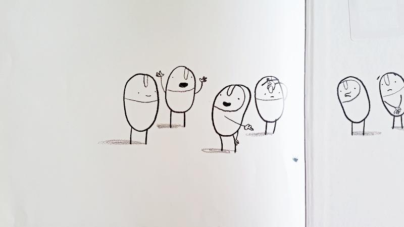 album ilustrado oliver jeffers los huguis yo no he sido