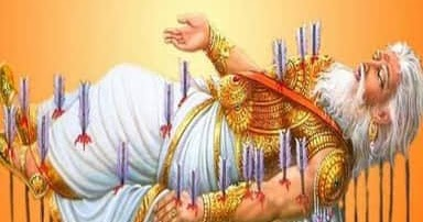 Hindu Mythological Stories Why Did Bhishma Have To Lie On The Bed Of Arrows