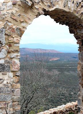 Vistas desde el castillo de Monfragüe.