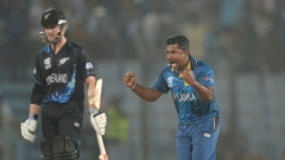 New Zealand vs Sri Lanka 30th Match ICC World T20 2014 Highlights