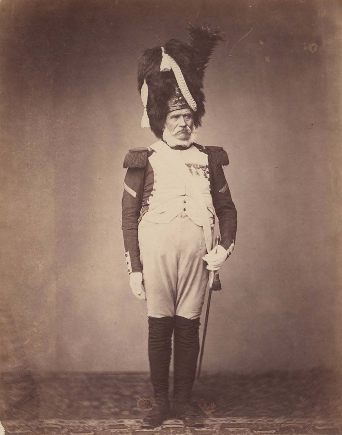 Grenadier Burg of the 24th Regiment of the Guard of 1815.