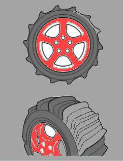 Ban Pasir ( Sand Tires )