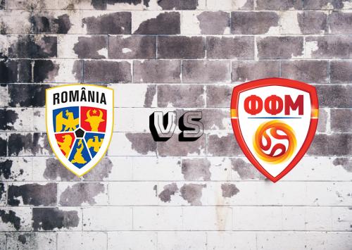Rumanía vs ARY de Macedonia  Resumen