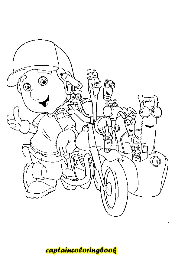 Handy Manny 38 Coloring Page - Free Handy Manny Coloring Pages ... | 856x579