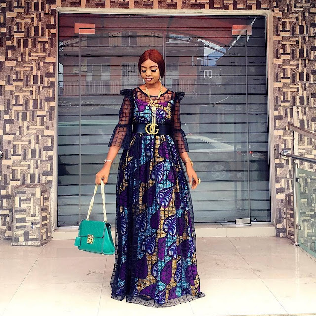 2019 Cute Ankara Gown Styles for Pretty Ladies