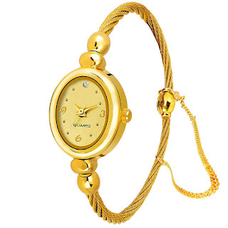 Golden Watches for Women on Amazon.