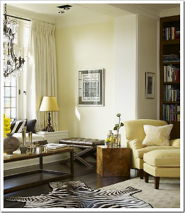 If Your Walls Are A Subtle Tone Perhaps Softer Version Of Fabrics You Can Add Punches Color See How The Soft Yellow Chair Lamp Shade