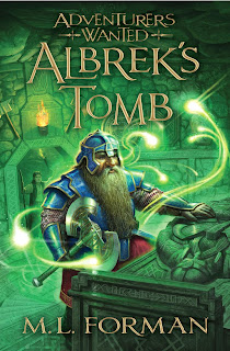 Adventurers Wanted: Albrek's Tomb (Book #3) by M.L. Forman