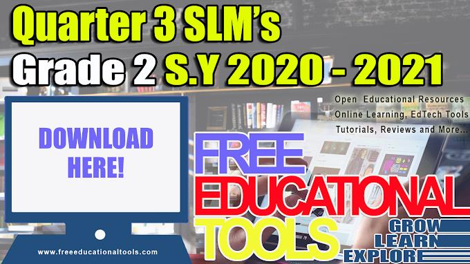 DepEd Grade 2 Quarter 3 Modules [SLMs]